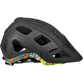 Cube Badger Helm schwarz/bunt